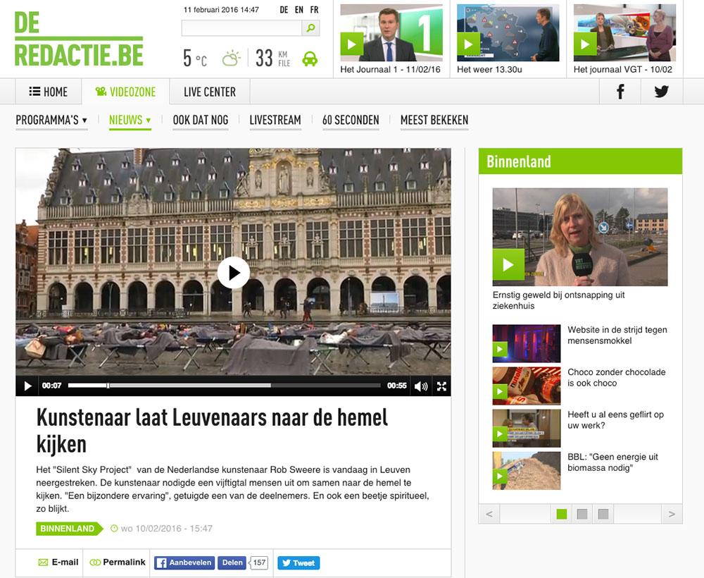 VRT Nieuws SSP#69 Leuven